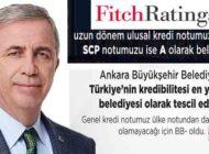 'Ankara Türkiye'nin Kredibilitesi En Yüksek Belediyesi'