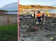İstanbul'un Suları Çekilen Baraj Gölleri Temizleniyor