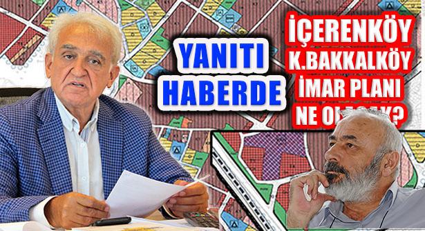 İçerenköy İmar Palanı Mayıs'ta İBB Meclis Gündeminde