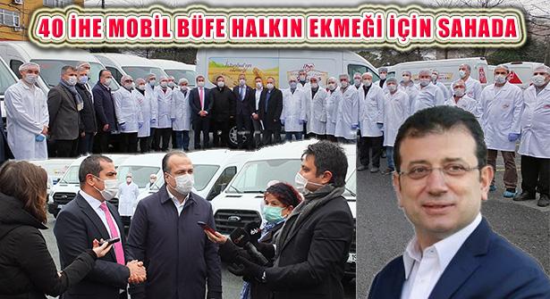 İBB'nin 40 Mobil Ekmek Büfesi İstanbulluların Hizmetinde