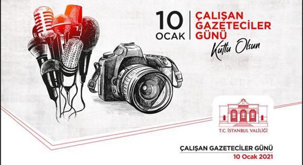 Vali Yerlikaya: '10 Ocak Çalışan Gazeteciler Günü Kutlu Olsun'