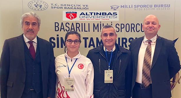 Altınbaş Üniversitesinden Türk Sporuna Tam Destek