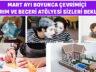 Çevrimiçi Tasarım Ve Beceri Atölyeleri Mart Programı Hazır