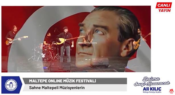 Maltepe Belediyesi'nden Online Müzik Festivali