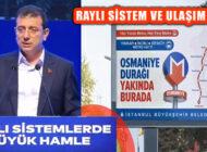 İstanbul 'Raylı Sistemlerinde Büyük Hamle' Tanıtıldı