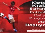 Kotex Kızlar Sahada Futbolcu Gelişim Programı 2021 Başlıyor!