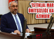 Milletvekili Etyemez: İstiklal Marşı, Teslimiyete Karşı Hürriyettir