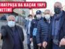 Başkan İlgezdi Ferhatpaşa'da Kaçak Yapı Denetimine Katıldı