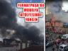 Ataşehir Ferhatpaşa'da Mobilya Atölyesinde Yangın