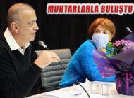 Başkan Battal İlgezdi Ataşehir'in  Mahalle Muhtarları İle Buluştu
