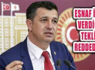 Gaytancıoğlu'nun Esnafın Borçları İçin Verdiği Teklifi Reddedildi