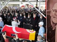 Rasim Öztekin Beyoğlu'nda Ses Tiyatrosu'ndan Uğurlandı