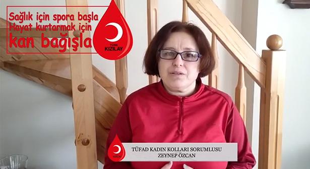 Türk Kızılayı Ataşehir ile TÜFAD Kan Bağış Kampanyası