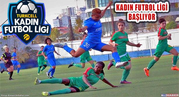 Turkcell Kadın Futbol Ligi 2020-2021 Sezonu Başlıyor