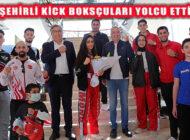 Başkan İlgezdi Kick Boksçuları Avrupa Kupası'na Yolcu Etti