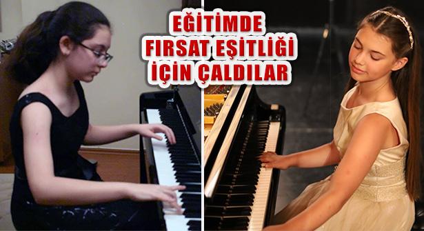 Piyanonun Harika Çocukları Eğitimde Fırsat Eşitliği İçin Çaldılar