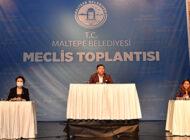 Maltepe Belediye Meclisi: 'Filistin Halkının Yanındayız'