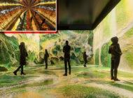 Refik Anadol'un 'Makine Hatıraları: Uzay' Sergisi Ziyarete Açılıyor