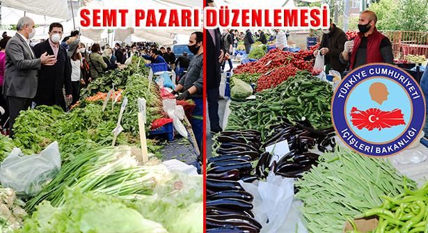 Cumartesi Günü Pazar Yerlerinde Yaş Meyve ve Sebze Satışı Yapılacak