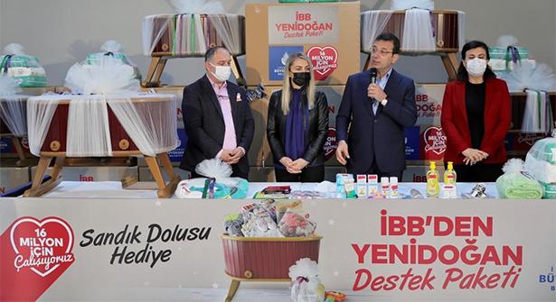 İmamoğlu, 'Yenidoğan Destek Paketi' Dağıtımını Başlattı