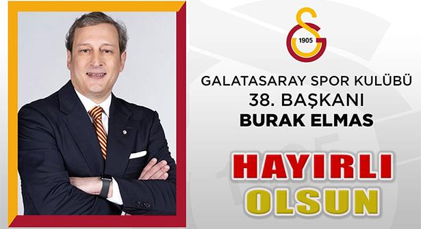 Galatasaray Kulübü'nün Yeni Başkanı Seçildi: Burak Elmas