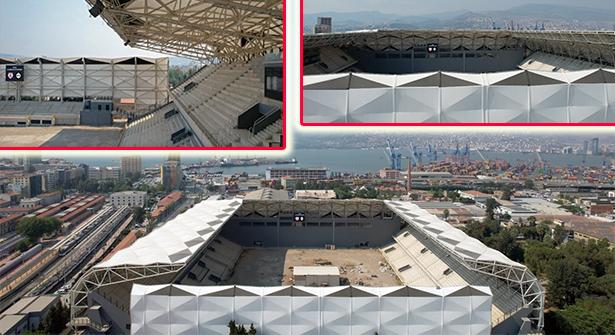 İzmir'in Yenilenen Alsancak Stadyumu Kapılarını Açıyor