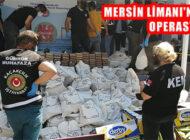 Mersin Limanında Muz Yüklü Konteynerde 1 Ton Kokain Ele Geçirildi