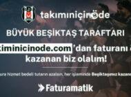 Beşiktaş Taraftarından Faturamatik'ten Faturayla Kulübüne Destek