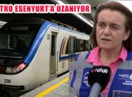 Mecidiyeköy-Mahmutbey Metrosu Esenyurt'a Uzanıyor