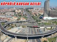 Türkiye'nin En Büyük Açıklıklı 'Fikirtepe Köprülü Kavşağı' Açıldı