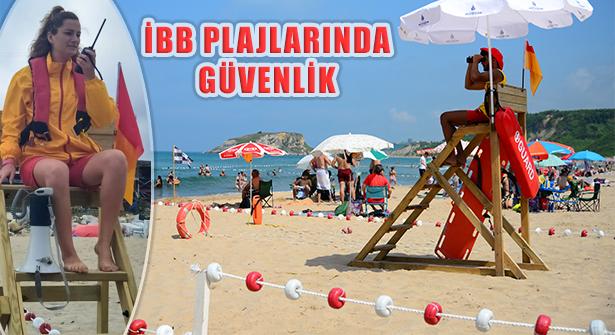 İBB 2021 Plaj Sezonunda 618 Cankurtaran İle Hizmet Veriyor