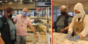 Maltepe'de Bayram Öncesi Gıda İşletmelerine Denetim