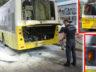 Ataşehir İçerenköy'de Özel Halk Otobüsü 15 Yolcusu İle Alev Aldı