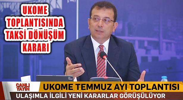 İstanbul'da 750 Minibüs İle 250 Dolmuşun Taksiye Dönüşüyor