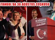 İstanbul'da Coşkulu 30 Ağustos Zafer Bayramı Kutlaması