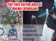 TÜSAD, 'Öğrenciler, Aile Bireyleri ve Okul Personeli Tam Doz Aşılanmalı!'