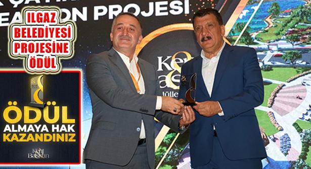 Ilgaz Belediyesi Dibek Çayırı Rekreasyon Projesi'ne Ödül