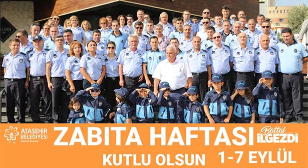 Ataşehir Belediyesi'nden Zabıta Haftası Kutlaması