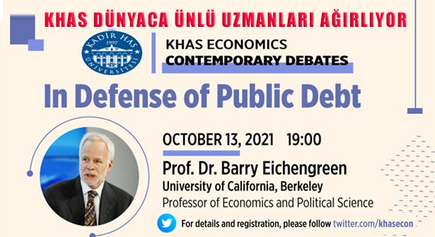 Kadir Has Üniversitesi Ekonomi Bölümü Dünyaca Ünlü Uzmanları Ağırlıyor