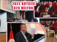 Ataşehir Belediyesi 2022 Mali Yılı Bütçesi Mecliste Kabul Edildi