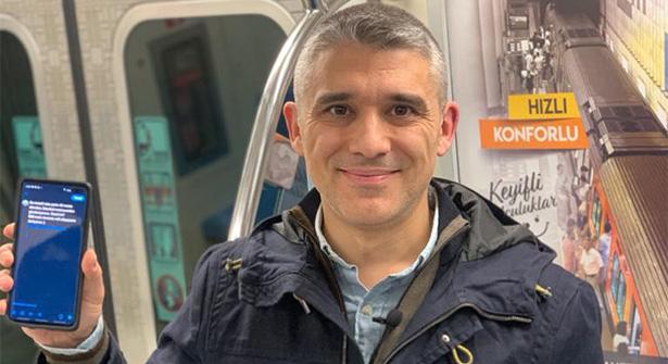 İBB Metrosuna 'İnternet' Geldi: İstanbullular yolculukta Kullanacak