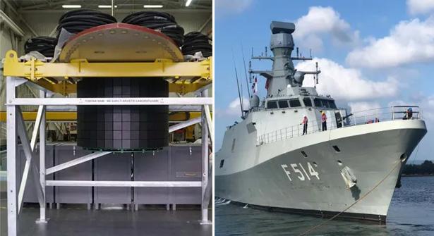 TÜBİTAK MAM MİLGEM 5. Gemisi Sonar Deniz Birimi Teslim Edildi