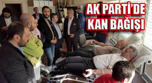 AK PARTİ ATAŞEHİR'DE 'KAN BAĞIŞ KAMPANYASI'
