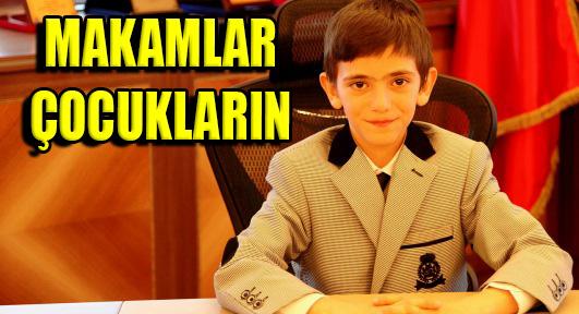 Ataşehir'de Başkanlık Koltukları Çocukların