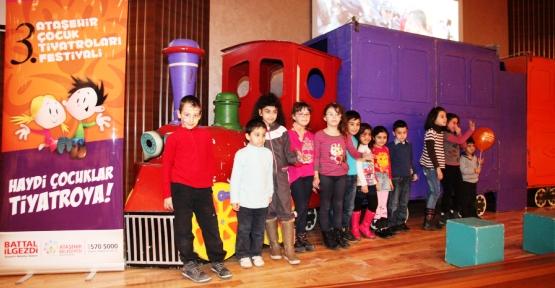 3. Ataşehir Çocuk Tiyatroları Festivali Başladı