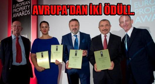 AVRUPA'DAN SANCAKTEPE'YE 2 ÖDÜL BİRDEN