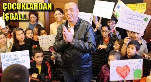 Dünya Çocuk Hakları Günü'nde Belediye İşgal Edildi!
