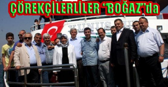 Çörekçilerliler Derneğin 26. Yılını Boğaz'da Kutladı