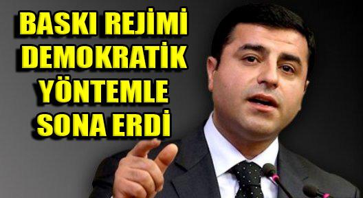 7 Haziran 'Balkon Konuşması' HDP'den