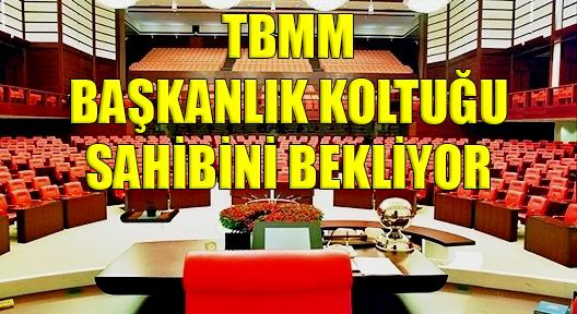 TBMM Yeni Başkanını Seçiyor